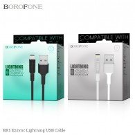 CABLE BOROFONE BX1 LIGHTNING IP