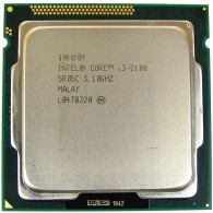 CPU intel I3 2100 3M Cache Core 2 Duo 3.10Ghz SK 1155 -Tray Ko Fan