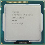 CPU intel I5 3470S 6M Cache Core 2 Duo 3.70Ghz SK 1155 -Tray Ko Fan